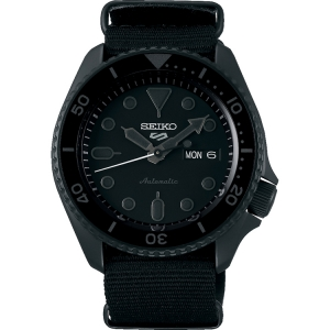 Seiko 5 Sports Horlogeband SRPD79 Zwart Nato 22mm