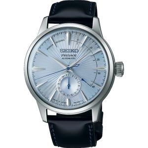 Seiko Presage Horlogeband SSA343 Zwart Leer