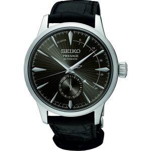 Seiko Presage Automatic Horlogeband SSA345 Zwart Leer