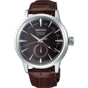 Seiko Presage Automatic Horlogeband SSA393 Bruin Leer 20mm