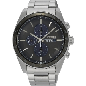 Seiko Chronograph Solar Horlogeband SSC715 Roestvrij Staal