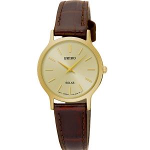 Seiko Solar Horlogeband SUP302 Bruin Leer