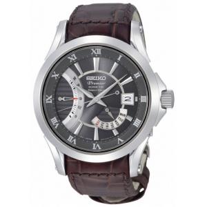 Seiko Premier Horlogeband SRH009P1 Bruin Leer