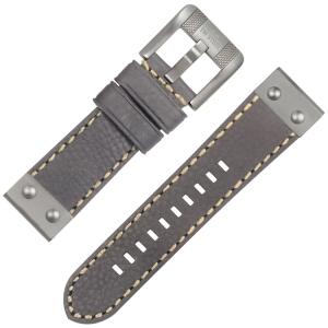 TW Steel NightRider NR1 Horlogeband Grijs 24mm