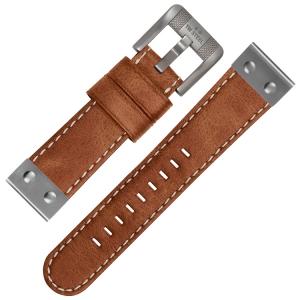 TW Steel Horlogebandje CS15 - Camel 22mm