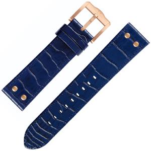 TW Steel Slim Line Horlogebandje TW1305, TW1309 - Blauw 22mm