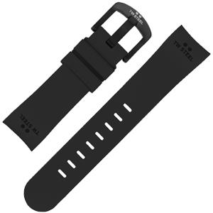 TW Steel Horlogebandje TW42 - Zwart Rubber 22mm