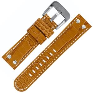 TW Steel Horlogeband Camel Kroko Kalfsleer 22mm