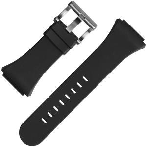 TW Steel Horlogebandje TW681 Renault F1 CEO Tech 48mm - Zwart Rubber