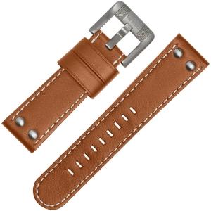 TW Steel Horlogebandje TWA953 Bruin 24mm