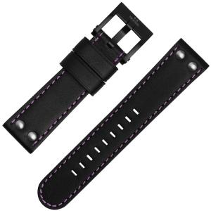 TW Steel Horlogebandje TW856, TW857 en Galatasaray Zwart Paars 22mm