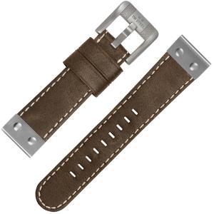 TW Steel Horlogebandje CS36 Bruin 24mm