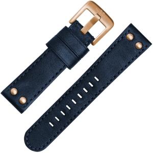 TW Steel Horlogebandje CS62, CS64 Blauw 24mm