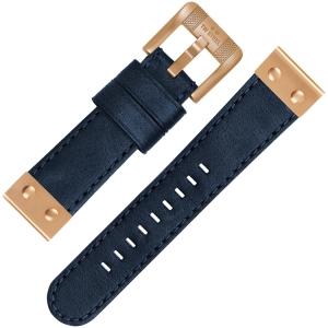 TW Steel Horlogebandje CS65 Blauw 22mm