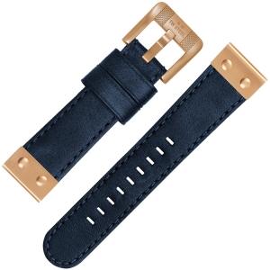 TW Steel Horlogebandje CS66 Blauw 24mm
