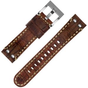 TW Steel Maverick Horlogebandje MS1 Bruin 22mm