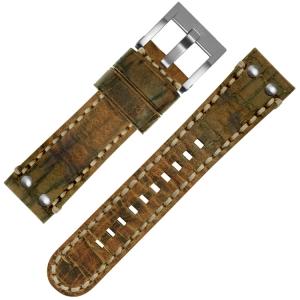 TW Steel Horlogebandje MS12 Cognac Bruin 24mm
