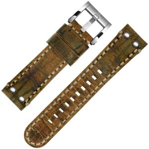 TW Steel Horlogebandje MS14, MS16 Cognac Bruin 24mm