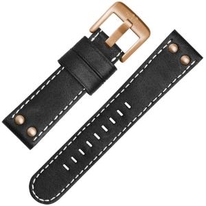 TW Steel Horlogebandje CS71, CS73 Zwart 22mm