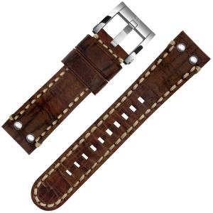 TW Steel Horlogebandje MS23, MS25 Bruin 22mm