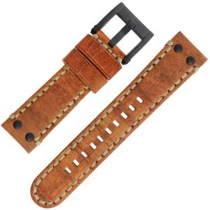 TW Steel Horlogebandje MS33, MS35 Bruin 22mm
