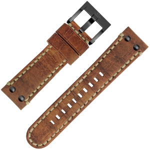 TW Steel Horlogebandje MS42 Camel 24mm