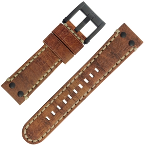 TW Steel Horlogebandje MS43, MS45 Camel 22mm