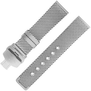 TW Steel Horlogebandje MB1, MB11 Mat Staal Mesh (Milanese) 22mm
