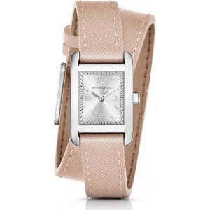 Michael Kors MK2388 Horlogeband Beige Leer