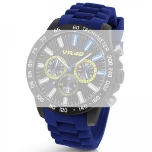 TW Steel VR110 Valentino Rossi VR|46 Horlogebandje - Blauw Rubber 22mm