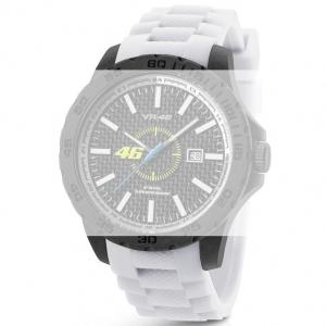 TW Steel VR4 Valentino Rossi VR|46 Horlogebandje - Wit Rubber 22mm
