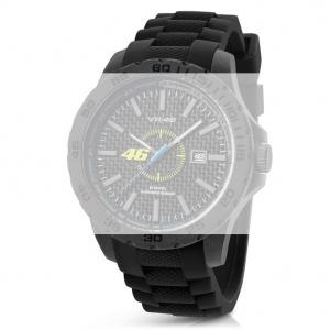 TW Steel VR7 Valentino Rossi VR|46 Horlogebandje - Zwart Rubber 20mm