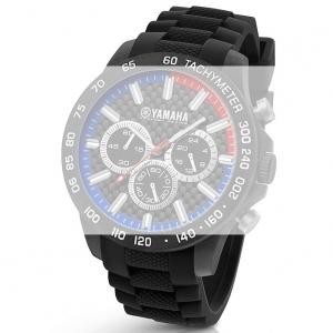 TW Steel Y112 Yamaha Factory Racing Horlogebandje - Zwart Rubber 22mm