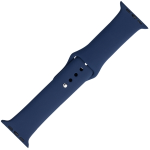 Apple Watch Horlogeband Blauw Silicone Rubber