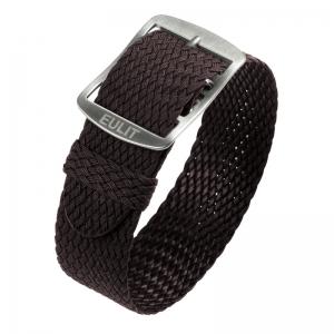 Eulit Perlon Horlogeband Baltic Bruin