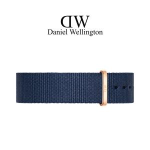 Daniel Wellington 20mm Classic Bayswater NATO Horlogebandje Rose Gesp