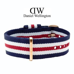 Daniel Wellington 20mm Classic Canterbury NATO Horlogebandje Rosé Gouden Gesp