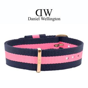 Daniel Wellington 17mm Classy Winchester NATO Horlogebandje Rose Gouden Gesp