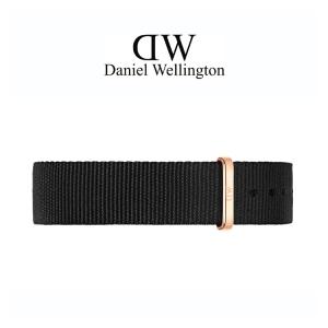 Daniel Wellington 18mm Classic Cornwall NATO Horlogebandje Rosé Gesp