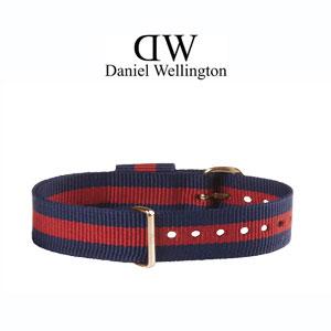 Daniel Wellington 13mm Classy Oxford NATO Horlogebandje Rosé Gouden Gesp