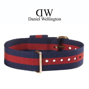 Daniel Wellington 18mm Classic Oxford NATO Horlogebandje Rose Gouden Gesp