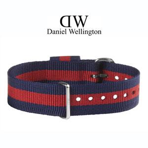 Daniel Wellington 18mm Classic Oxford NATO Horlogebandje RVS Gesp
