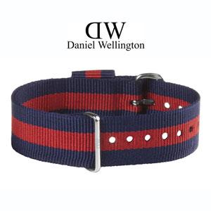 Daniel Wellington 20mm Classic Oxford NATO Horlogebandje RVS Gesp