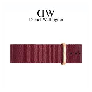 Daniel Wellington 20mm Classic Roselyn NATO Horlogebandje Rose Gesp