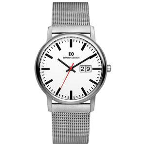 Horlogeband Danish Design IQ62Q974 mesh milanaise geweven staal