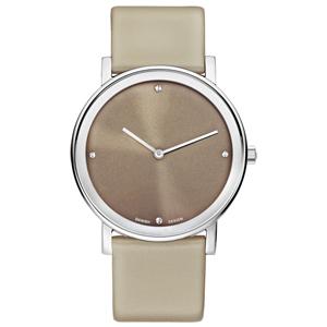 Danish Design Horlogeband IQ14Q1042 Grijsbruin Leer