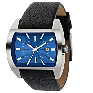 Diesel DZ1115 Horlogeband Zwart Leer