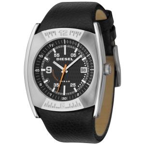 Diesel DZ1156 Horlogeband Zwart Leer