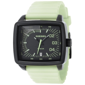 Diesel DZ1335 Horlogeband Lichtgroen Rubber
