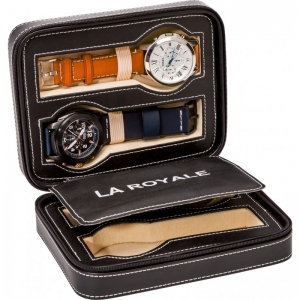 La Royale Viaggio Horloge Reisetui - 4 horloges